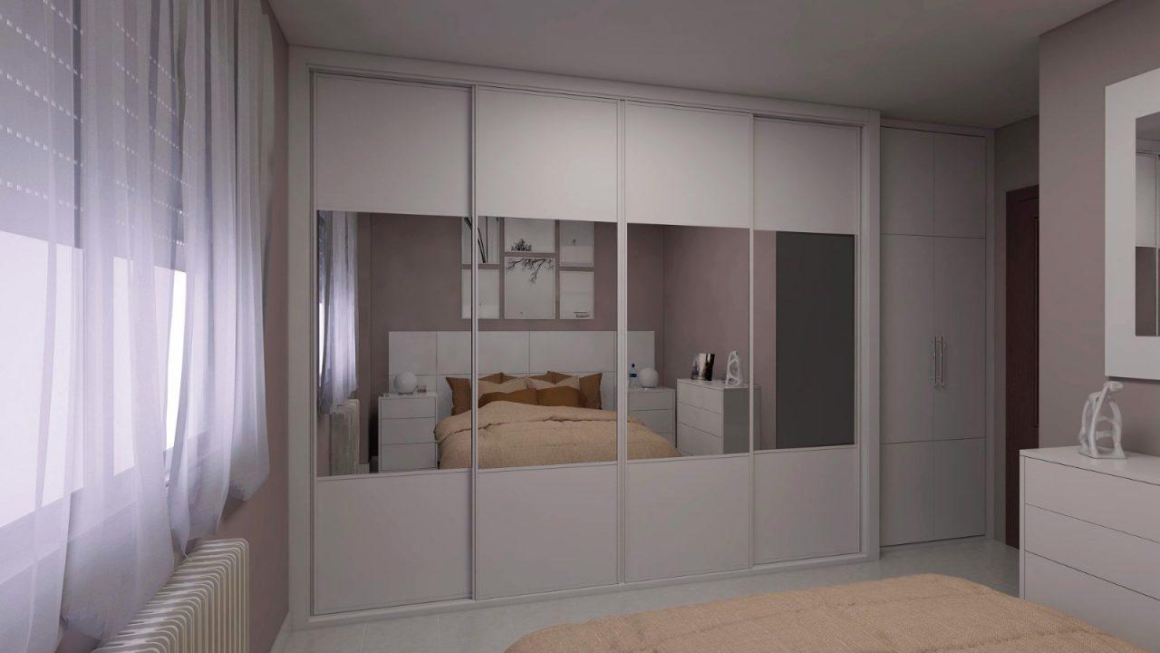 armario corredera con espejos
