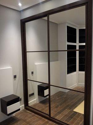 puertas correderas espejo
