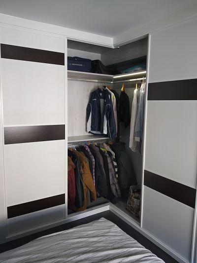 armario corredera en esquina