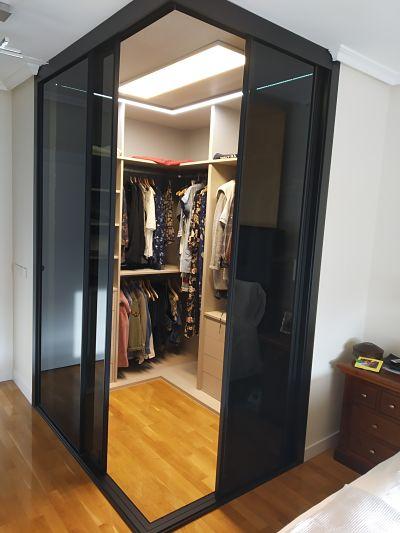 armario en esquina